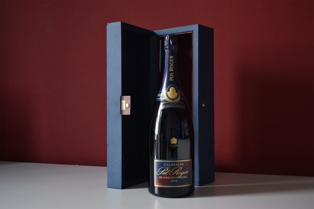 champagne Winston Churchill 2008