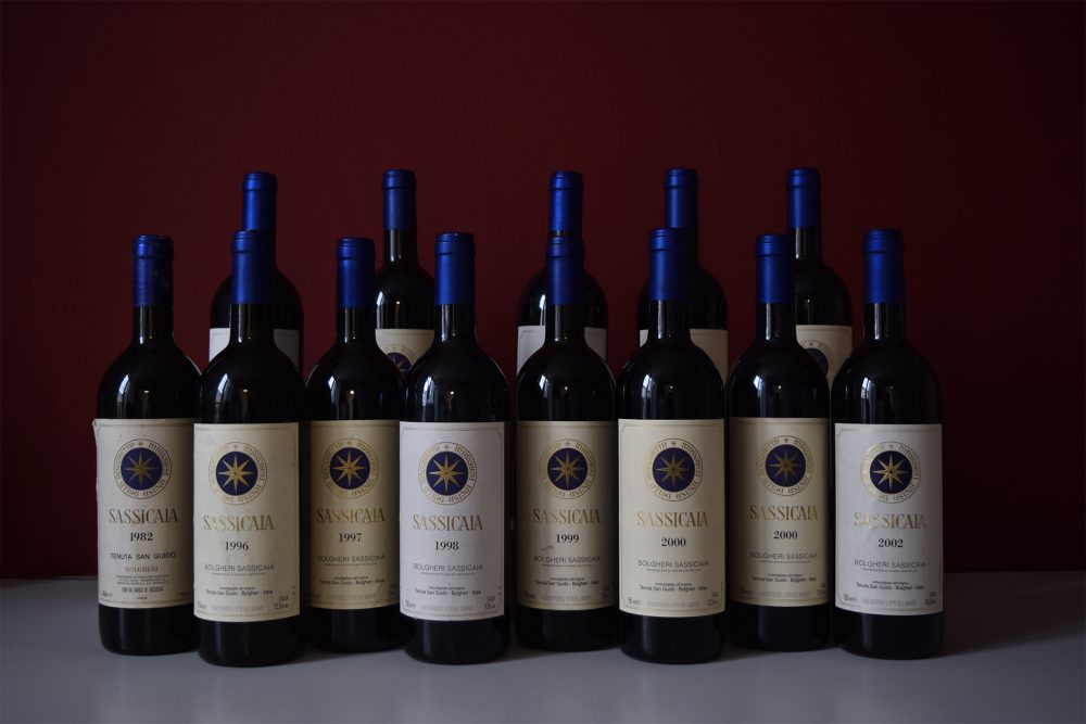 vino Sassicaia Collection
