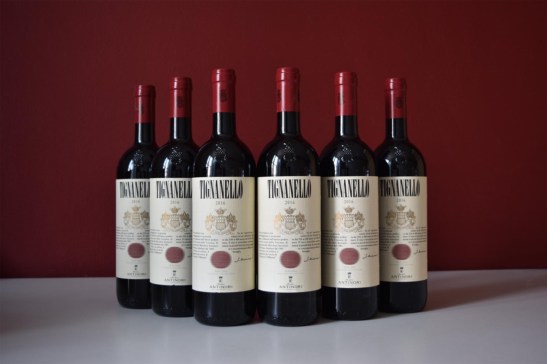 vino cabernet Tignanello